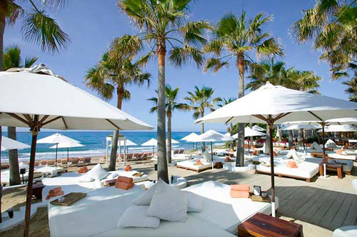Costa del Sol Beach clubs