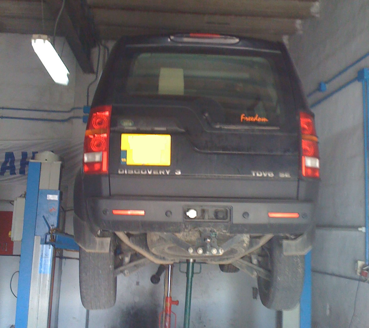 Air Suspension Fault Discovery 3 Land Rover Discovery