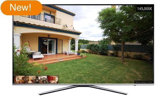 New browser based TV digital display