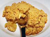 Delicious Apple Crumble Made With 4 Apple Varieties